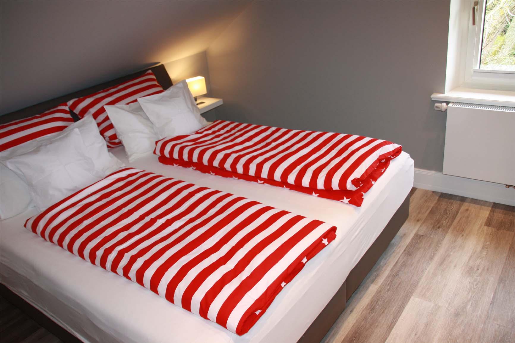 Ferienwohnung 1 - Schlafzimmer 1