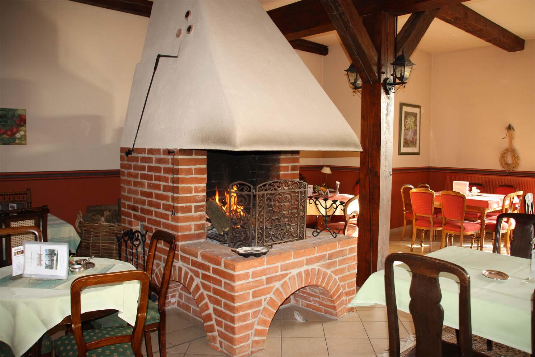 Kamin im Café zum Ziegelhof