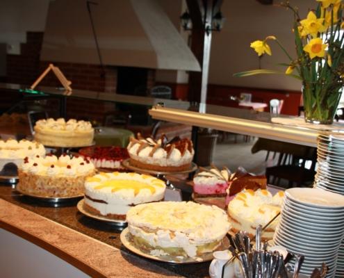 Tortenauswahl - Café zum Ziegelhof