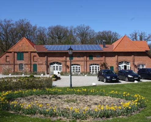 Café zum Ziegelhof im Frühling