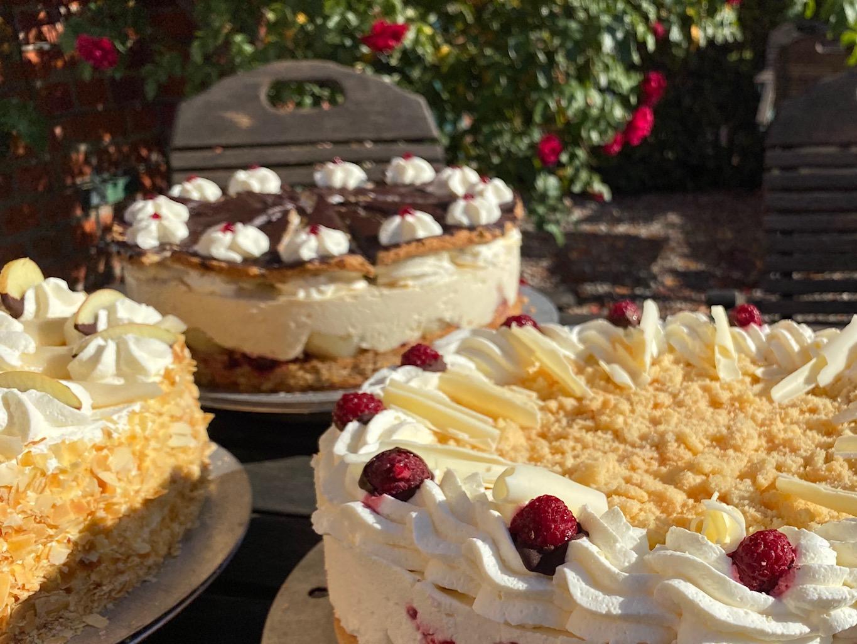 Torten - Café zum Ziegelhof - Hof Mougin