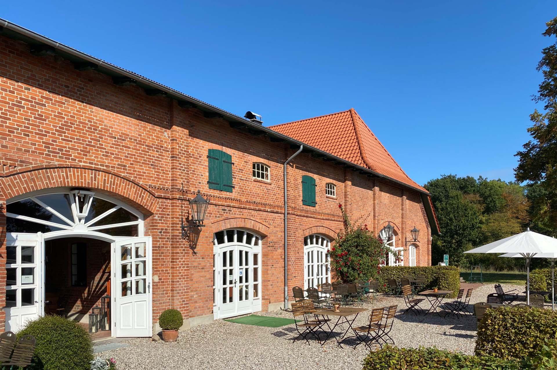 Café zum Ziegelhof - Außensitzplätze