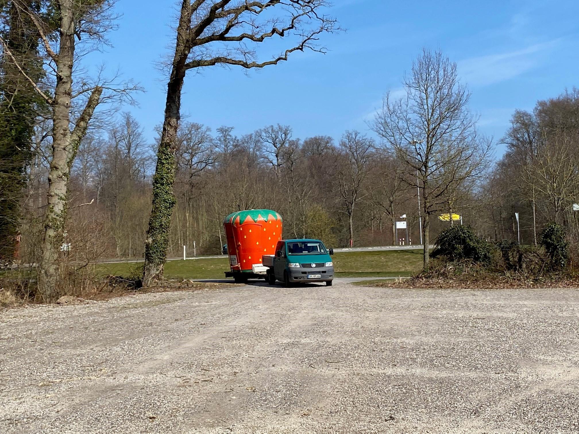 Hof Mougin - Erdbeerbuden
